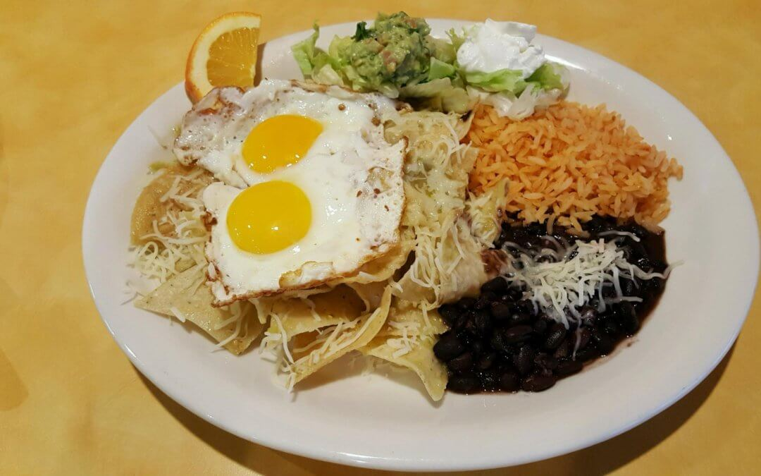 Menu Spotlight: Chilaquiles and Eggs