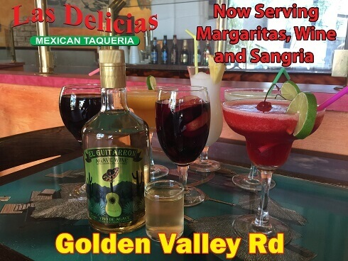 Las Delicias Golden Valley | Mexican and Seafood, Drink Specialties