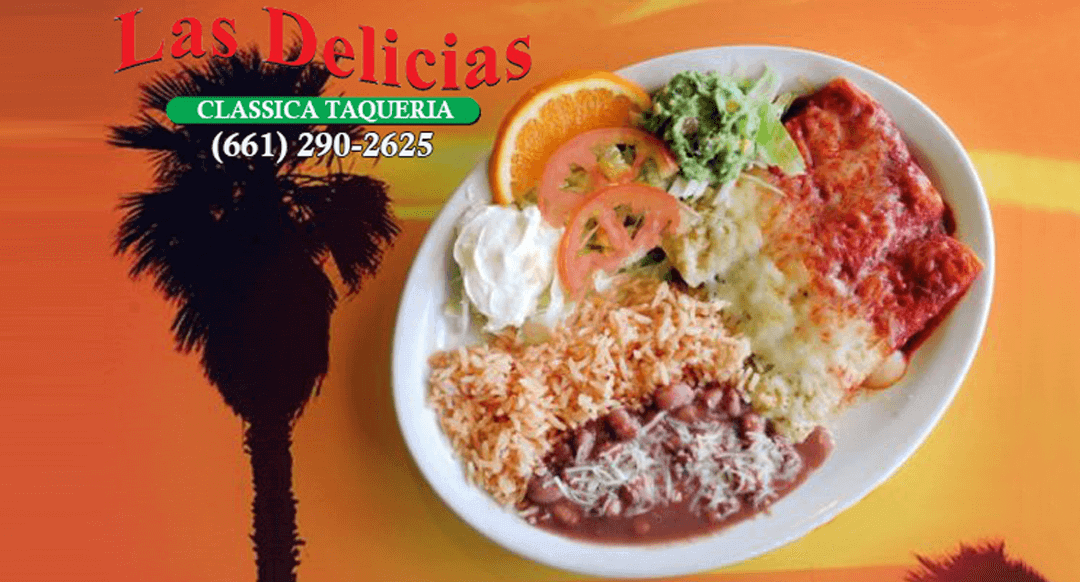 Authentic Mexican Food on your mobile device | order online Las Delicias Golden Valley