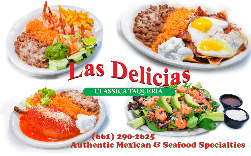 Specials! Eat in, or order Online – Las Delicias Golden Valley