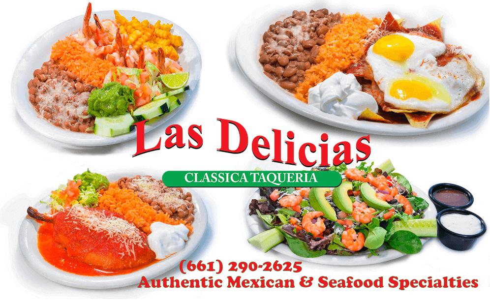 Specials! Eat in, or order Online – Las Delicias Golden Valley