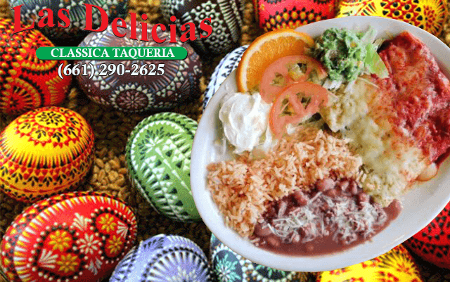 Eat In, Take Out, Order Online – Las Delicias Golden Valley – Happy Easter