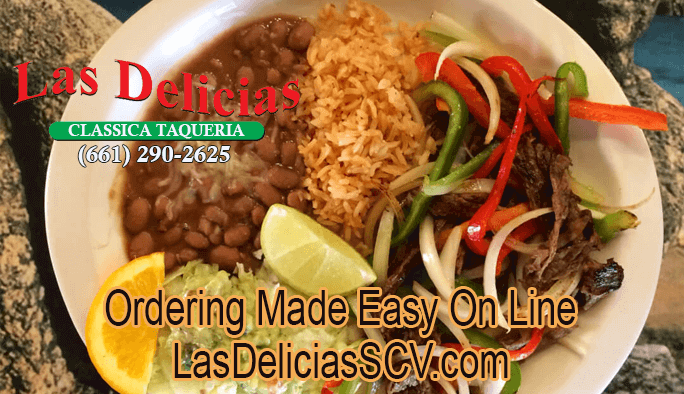 Best Authentic Mexican – Easy Online Ordering – Las Delicias Golden Valley