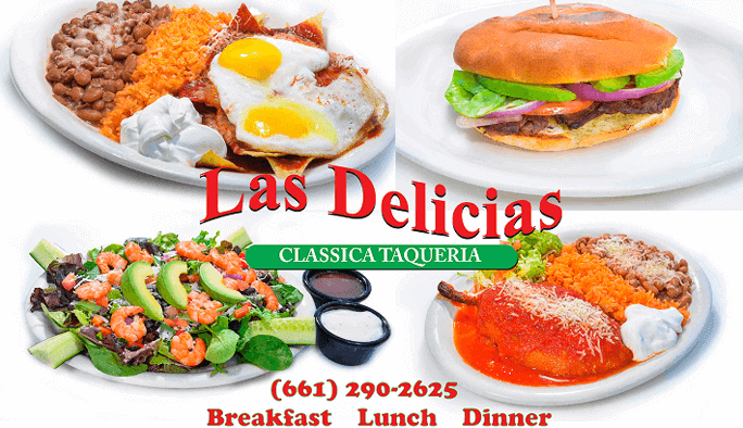 Any time of Day for Fast & Fresh Mexican Food! Las Delicias