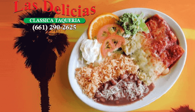 Find US For The Best Mexican Food In Town!! – Las Delicias Golden Valley (Order Online)