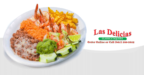 Check out our Variety of Delightful Plates! | Las Delicias