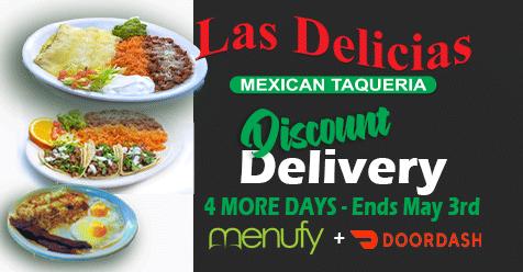 4 Days Left – Discounted Delivery – Las Delicias Golden Valley Road