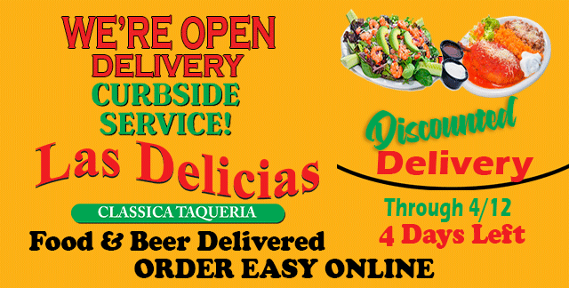 Delivery For Less w/Online Order – Las Delicias Golden Valley Rd
