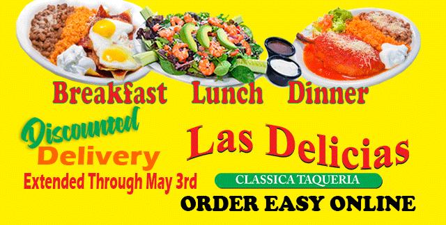 Discounted Delivery – Combo Special – Las Delicias Golden Valley Road