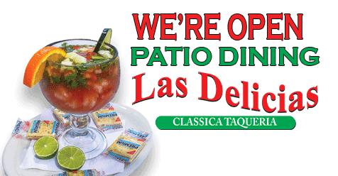 Outdoor Dining On The Patio Las Delicias Golden Valley Road