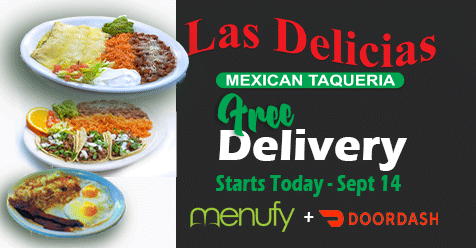 Today Free Delivery at Las Delicias Golden Valley Road