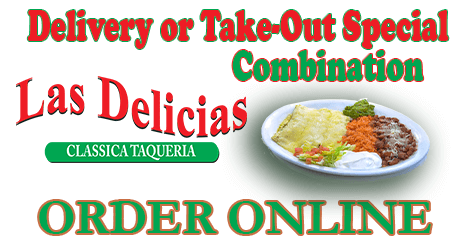 Best Mexican Combo's in SCV | Las Delicias Golden Valley Road