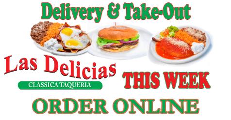 Pickup and Delivery – Order Online | Golden Valley Road – Las Delicias