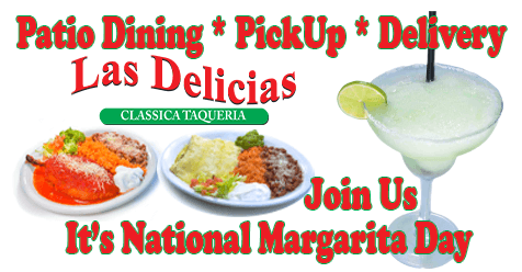 National Margarita Day Join Us on The Patio | Las Delicias Golden Valley