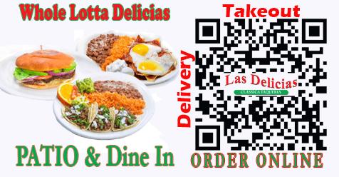 Dine In Combo Special | Las Delicias Golden Valley Road