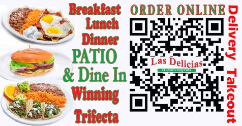 Golden Valley Road Las Delicias   Breakfast, Lunch, Dinner, a Winning Day