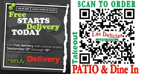 It's Your Week at Las Delicias Golden Valley Road – Free Delivery