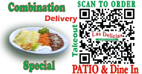 Combination Special at Las Delicias Golden Valley Road